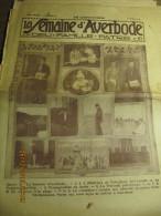LA SEMAINE D'AVERBODE  XXIe Année  N° 11 - 15 Mars 1931 Le Pape Au Congo - Kranten