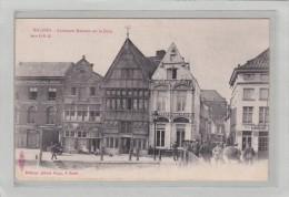 BELGIQUE - ANVERS - MALINES - ARCHITECTURES - VIELLES MAISONS - Anciennes Maisons Sur La Dyle - Animation - Malines