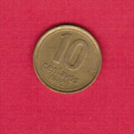 ARGENTINA   10 CENTAVOS 1992 (KM # 107) - Argentina