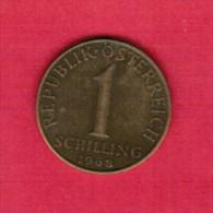 AUSTRIA   1 SCHILLING 1968 (KM # 2886) - Austria