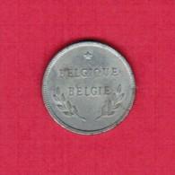 BELGIUM   2 FRANCS 1944 (KM # 133) - 1934-1945: Leopold III
