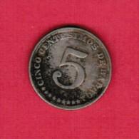 PANAMA   5 CENTESIMOS 1929 (KM # 9) - Panama