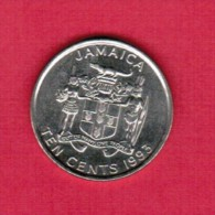 JAMAICA  10 CENTS 1993  (KM # 146.1) - Jamaica