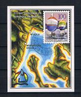 Jugoslawien 1986 Segeln Block 28 Gest - Gebraucht