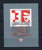 Jugoslawien 1986 Tito Block 29 Gest - Gebraucht