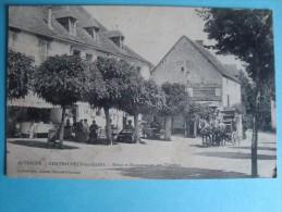 63 - Châteauneuf Les Bains - Hôtel Et Restauration Des Thermes - Diligence - Autres Communes