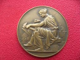 Ecole Nationale Professionnelle - Médaille De La Société Des Anciens élèves - 1895/1945 - Bronze 58g 50mm - Professionals/Firms