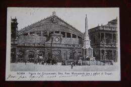 ROMA - Piazza Dei Cinquecento, Monumento Per I Daduti Di Dogali - Piazze