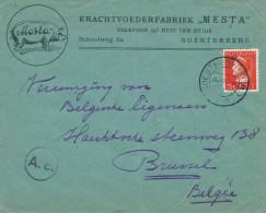 640/22 - NEDERLAND - Lettre Illustrée Porc SOESTERBERG 1940 - Entete Krachtvoederfabriek MESTA - 1891-1948 (Wilhelmine)