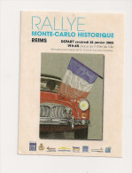 AUTOCOLLANT RALLYE MONTE CARLO 2005 - Autocollants