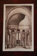 DOURGNE - Novembre 1932 - Plan Actuel De L'Abside De L'Eglise En Construction, Vue Intérieure. - Dourgne