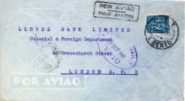PORTUGAL LETTRE POUR L'ANGLETERRE 1945 - Marcophilie