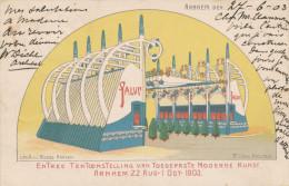 641/22 - NEDERLAND - Carte Illustrée En Couleurs - Tentoonstelling Toegepaste Moderne Kunst ARNHEM 1903 - 1891-1948 (Wilhelmine)