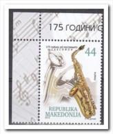 Macedonië 2015, Postfris MNH, Music - Macedonië