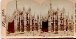 Stereofoto - Der Mailänder Dom, Mailand - La Cathetrale De Milan 1897 - Stereoscopi