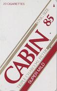 Télécarte Japon / 110-011 - Tabac - CIGARETTE / CABIN - Japan Phonecard - ZIGARETTE Telefonkarte - 44 - Reclame
