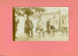 Originele En Unieke Foto Op Karton Geplakt ( Om Het Krullen Tegen Te Gaan ) Oorlog Guerre Militair Soldat Soldaat - Krieg, Militär
