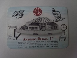 1 CALENDAR SMALL - PORTUGAL ANGOLA LUANDA - Calendars
