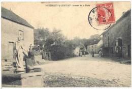 Montmirey Le Château - Avenue De La Place - France