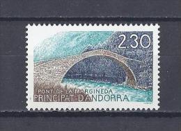 ANDORRE. YT 385 Pont De La Margineda 1990 Neuf ** - Ungebraucht