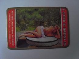 1 CALENDAR SMALL - PORTUGAL EROTICO EROTIC WOMAN NUDE SEXY MULHER NUA SEX PORN PORNOGRAPHIC - Calendarios
