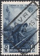 Belgium, 9 F. 1946, Sc # Q284, Mi # 270, Used. - Railway