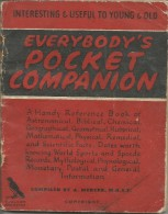 UK 1947 Calendar Pocket Companion The House Of Windsdor US Presidents Nuclear Bomb Chemical Elements - Calendriers