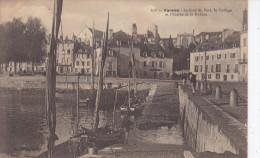 VANNES  - Le Fond Du Port , Le Collège Et L'entrée  De La Rabine (GPa-c313) - Vannes