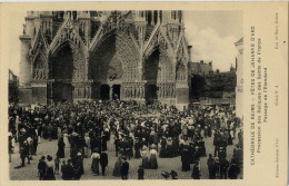 51 REIMS FETES JEANNE D'ARC PROCESSION PASSAGE DE L'ETENDARD - Reims