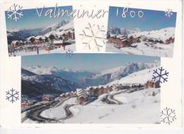 VALMEINIER (73-Savoie)  Vue Générale, 3 Vues, Ed. Wadoo 1980 Environ - Other Municipalities