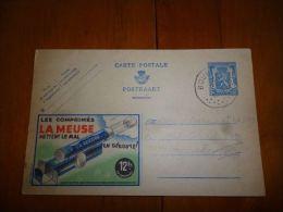 BC8-2-10 Publibel Obl. N° 560  (  COmprimés La Meuse ) Obl: Bourlers - Stamped Stationery
