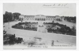 MARMANDE EN 1917 - LA GARE - CPA VOYAGEE - Marmande