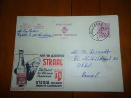 BC8-2-10 Publibel Obl. N° 1742  (  Eau De Source Straal  ) Obl: Meulebeke - Enteros Postales