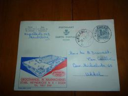 BC8-2-10 Publibel Obl. N° 1615  (  Ets Heyndrickx Groothandel In Naaimachienes Machine à Coudre ) Obl: Meulebeke - Enteros Postales