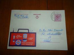 BC8-2-10 Publibel Obl. N° 2254  ( Berec Droge Batterijen ) Obl: Meulebeke - Stamped Stationery