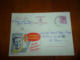 BC8-2-10 Publibel Obl. N° 1895  ( Yoghourt Nutrella ) Obl: Jumet - Stamped Stationery