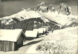 CANAZEI  TRENTO  Verso Il Sassolungo  Invernale - Trento