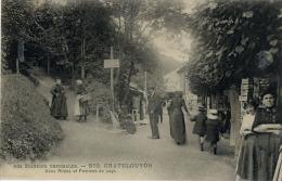 63 CHATELGUYON ALLEES ET FEMMES DU PAYS 570 - Châtel-Guyon