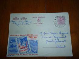 BC8-2-10 Publibel Obl. N° 1763 ( Huiles Lionoil) Obl: Heist Aan Zee - Enteros Postales