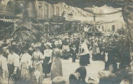 AUNAY SUR ODON - Belle Carte Photo D´une Procession - L´Evêque Le Jour De La Confirmation - Altri Comuni
