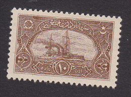 Turkey In Asia, Like Scott #62, Mint Hinged, Naval League Label Without Overprint, Issued 1921 - 1920-21 Anatolia