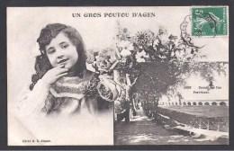 Un Gros Poutou D' AGEN - Chemin Des Iles - Pont Canal - Agen