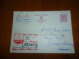 BC8-2-10 Publibel Obl. N° 2050 (  Eau Minérale Leberg  ) Obl: Oostende - Enteros Postales