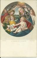 Firenze - Florence - Botticelli - La Vergine Col S. Bambino - Peintures & Tableaux