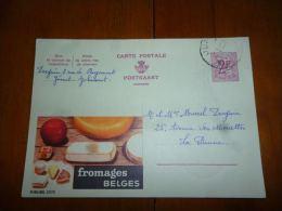 BC8-2-10 Publibel Obl. N° 2070  (  Fromages Belges ) Obl: Jumet - Stamped Stationery