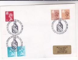 1988 GB Stamps COVER EVENT Pmk BANGOR PIER RE-OPENS  Illus DRAGON Wales Welsh - Mythology