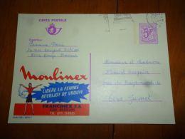 BC8-2-10 Publibel Obl. N° 2673 F (  Francimex Gosselies Moulinex ) Obl: - Stamped Stationery
