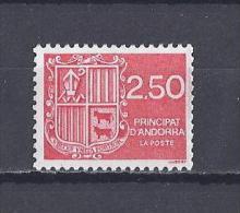 ANDORRE. YT 409 Série Courante. Blason D'Andorre 1991 Neuf ** - Neufs