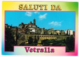 O862 Saluti Da Vetralla (Viterbo) - Panorama Della Città / Viaggiata 1992 - Altre Città