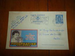 BC8-2-10 Publibel Obl. N° 525 (  Farine De Bébé La Phosphatine  ) Obl: Bruxelles Sud - Enteros Postales